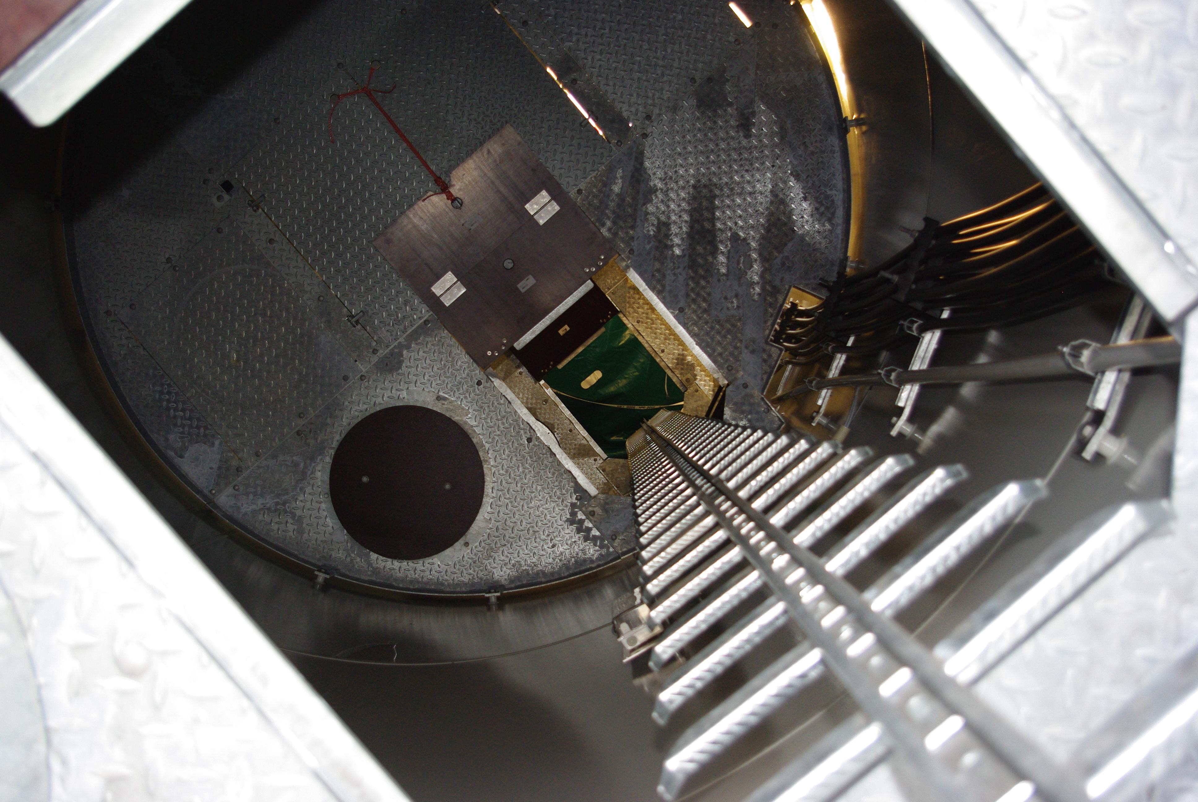 Inside the Turbine