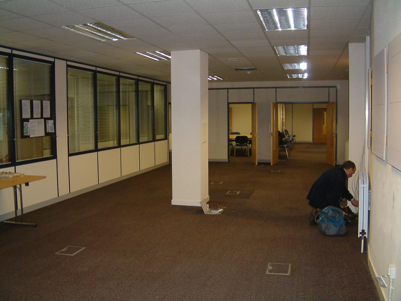 Building work Undergo
