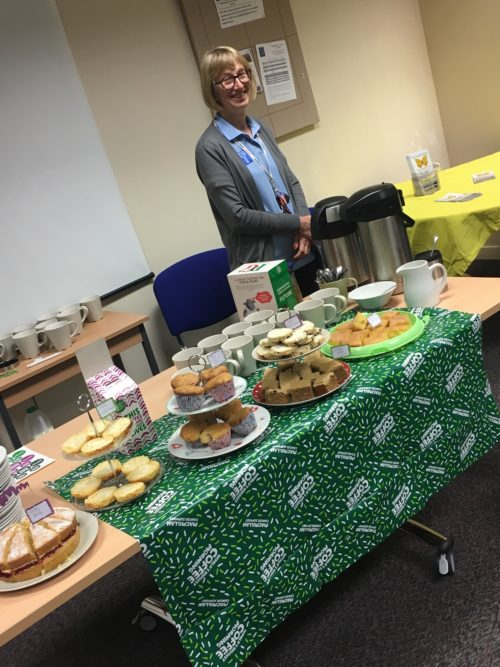 BCT Host - Becci Murray Macmillan Coffee Morning 28.09.18