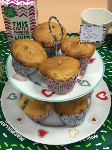 Macmillan Coffee Morning 28/09/2018
